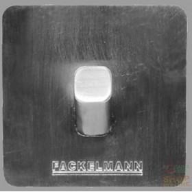 FACKELMANN ADHESIVE HOOK IN SATIN STAINLESS STEEL 5X5X3,5 CM.