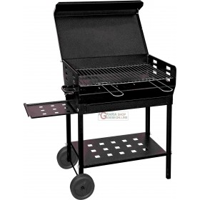 BARBECUE A CARBONE POLIFEMO ROBUSTO CM. 40x50x95h.