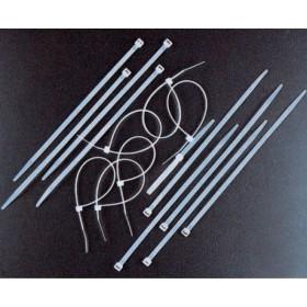 FASCETTE DI CABLAGGIO NYLON NERE MM. 2,5 X 98 PZ. 100