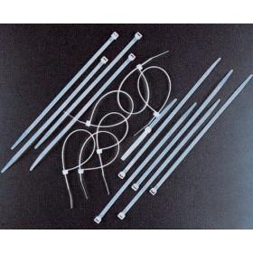 BLACK NYLON CABLE TIES MM. 4,8 X 200 PCS. 100
