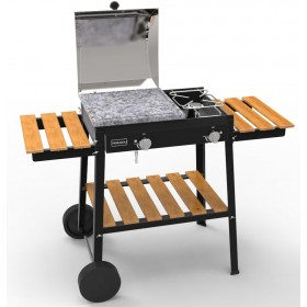FERRABOLI GAS BARBECUE BIO COOKING MODEL WITH 2 BURNERS cm.