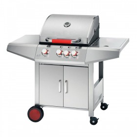 BARBECUE A GAS FERRABOLI MODELLO NEW TOP INOX cm. 122x60x113h.