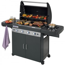 BARBECUE GAS BARBECUE DUALGAS 4 SERIES CLASS.LSPLUSDARK DG