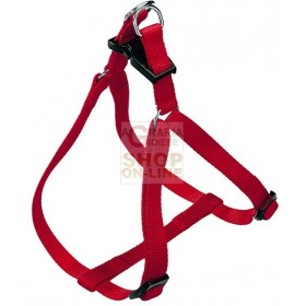 FERPLAST HARNESS FOR DOGS RED EASY P SIZE LARGE