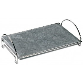 FERRABOLI SOAPSTONE WITH SUPPORT cm. 40x26x12h.