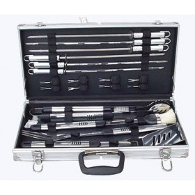 FERRABOLI 18-PIECE SET ACCESSORY CASE FOR STEEL BARBECUE