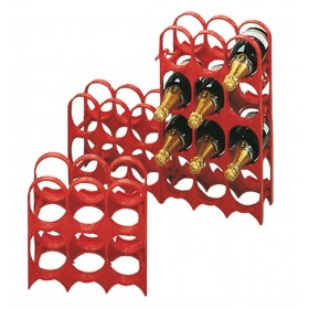 FERRARI CELLAR IN PLASTIC BOTTLE HOLDER 6 PLACES