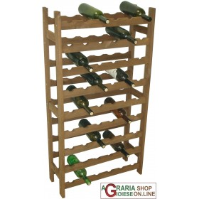 FERRARI CELLAR WOODEN BOTTLE HOLDER 54 PLACES