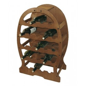 FERRARI CELLAR WOOD BOTTLE HOLDER BOTTLE 23 PLACES