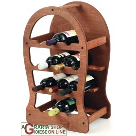 FERRARI CELLAR WOOD BOTTLE HOLDER CANTIBOTTE 13 PLACES