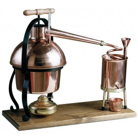 FERRARI ALAMBIC DISTILLER IN COPPER WITH THERMOMETER LT. 3