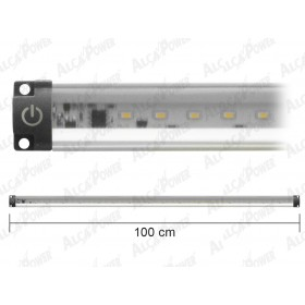 ULTRA FLAT NATURAL LIGHT LED BAR WITH WATT SWITCH. 10 CM. 100