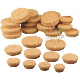 FERRARI CORK CAPS FOR JAR 65 x 50 x 30 CONF. 3 PCS.