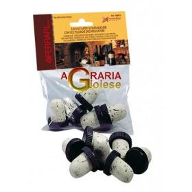 FERRARI COGNAC CORK CAP PCS. 5