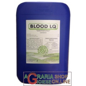 FERTENIA BLOOD LQ ORGANIC FERTILIZER BASED ON WATER-SOLUBLE BLOOD KG. 25