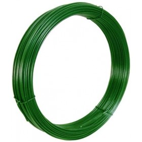 GREEN PLASTIFIED IRON WIRE FOR VOLTAGE MT. 100 MM. 1.8