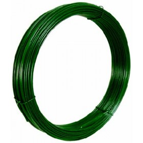 GREEN PLASTIFIED IRON WIRE FOR VOLTAGE MT. 100 MM. 2.8