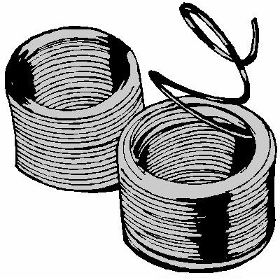 WATERPROOF WIRE IN SPOOL 33 GR. 50