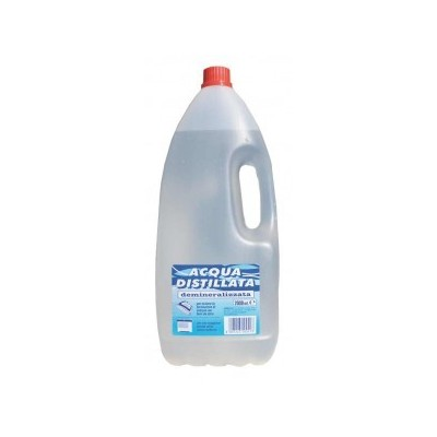 DEMINERALIZED DISTILLED WATER FOR DOMESTIC USE LT. 2
