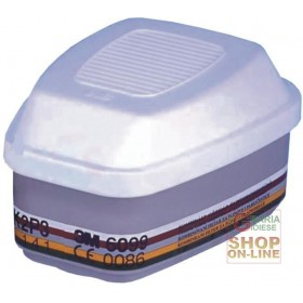 FILTER FOR 3M MASK SERIES 6000 - 7000 ART. 6099 TYPE A2 B2 E2 K2 P3 EN 14387 FOR PESTICIDES