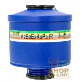 FILTER FOR MASK SPASCIANI TR 82 ART. 203 A2 B2 E2 K2 P3 R EN
