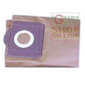 PAPER BAG FILTER FOR VACUUM CLEANER LAVOR ALLMODEL 52120016
