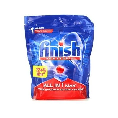 FINISH PADS ALL IN 1 MAX 22 + 5 REGULAR WASHES