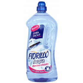 FIORILLO DEMINERALIZED DISTILLED WATER FOR DOMESTIC USE LT.