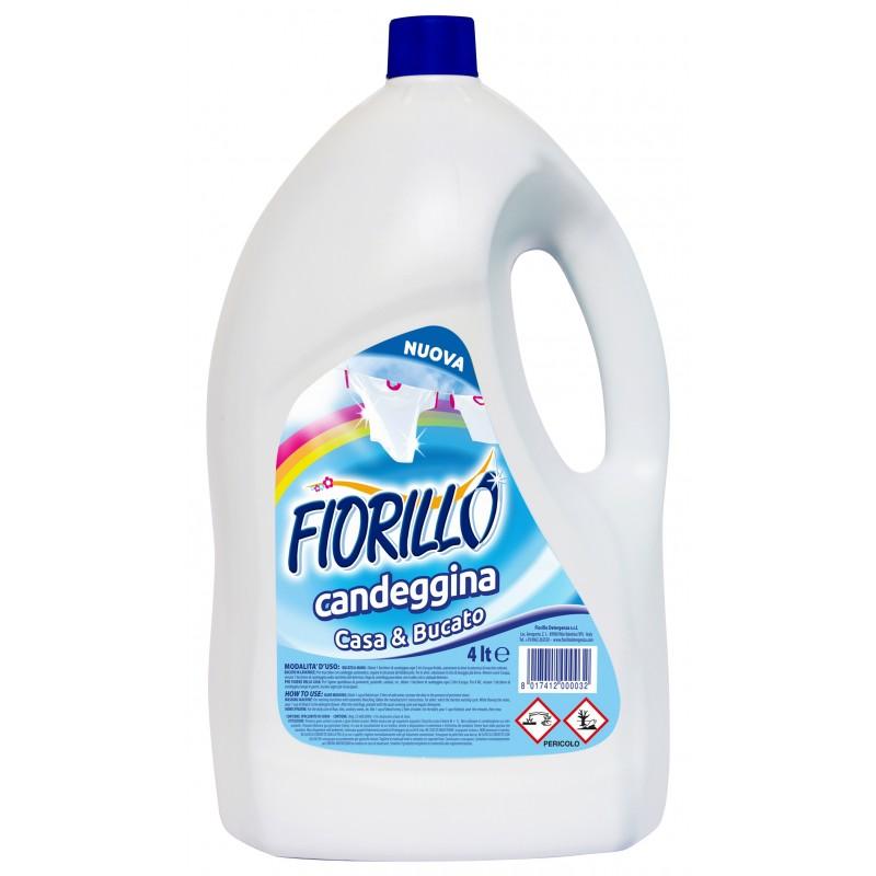Fiorillo Ammoniaca Candeggina Per Bucato E Igiene Della Casa Lt 4