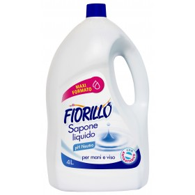 FIORILLO NEUTRAL LIQUID SOAP CREAM LT. 4