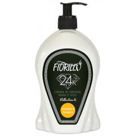 FIORILLO LIQUID SOAP CREAM VANILLA AND GINGER ML. 750