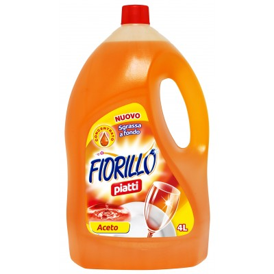 FIORILLO DETERGENT DISHES VINEGAR LT. 4