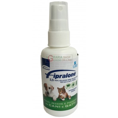 FIPRALONE 2,5 PESTICIDE FOR DOGS AND CATS ML. 100 ACTIVE