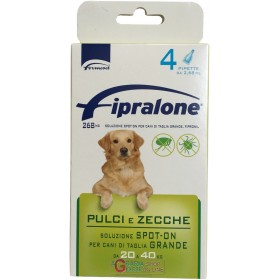 Fipralone spot-on flea and tick pesticide for dogs 20 - 40 kg