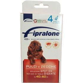 Fipralone antiparassitario pulci e zecche spot-on cane 40 - 60 kg pipette 4