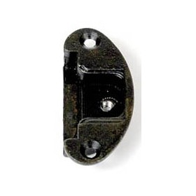 BASE FOR HINGES ART. A0069 ANTIQUE BRONZE FINISH