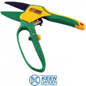 RATCHET PRUNING SCISSOR WITH RACK AND HAND GUARD KUNZI KGR 3131