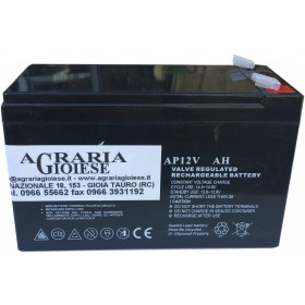 BATTERY FOR PUMP RECHARGEABLE 12 VOLT 8Ah