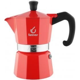 FOREVER Macchina del caffè caffettiera Prestige La Rossa 6