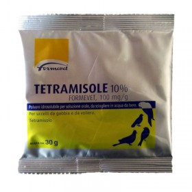 FORMEVET TETRAMISOLE 10% ORAL SOLUTION FOR BIRDS SACHET OF 30gr