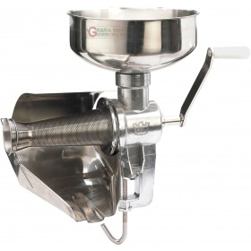 FPL TOMATO SAUCER MANUAL TOMATO SQUEEZER FUNNEL AND SLIDE INOX