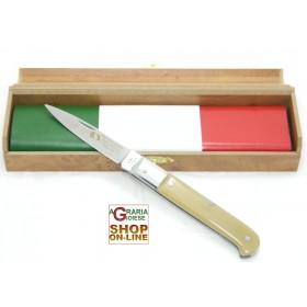 Fraraccio coltello caltagirone 150 anniversario manico corno