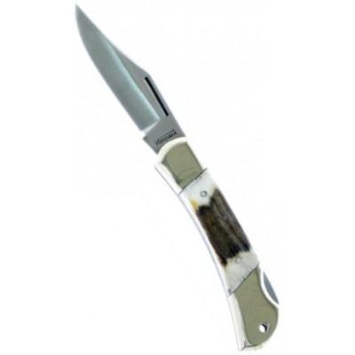 Fraraccio coltello nevada manico cervo lama cm. 6,5