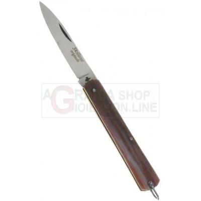 FRARACCIO KNIFE CELLULOID HANDLE STAINLESS STEEL BLADE CM. 17