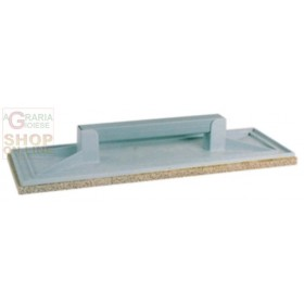 PLASTIC SUPPORT TROWEL WITH SPONGE CM. 15 X 44