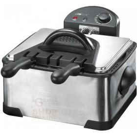 Electric fryer Clatronic FR3195 with double stainless steel tank watt. 2 x 2000