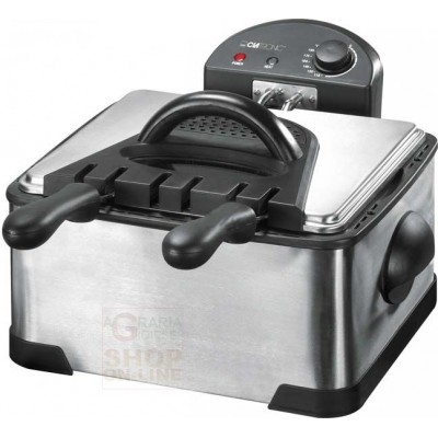 Electric fryer Clatronic FR3195 with double stainless steel