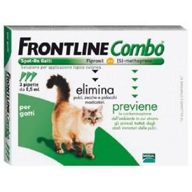 FRONTLINE PESTICIDE FLEAS COMBO SPOT-ON CATS CF. 3