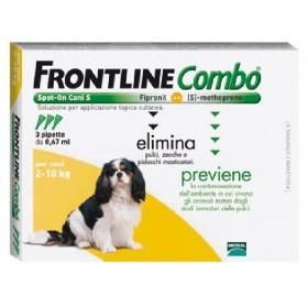 FRONTLINE PESTICIDE FLEAS TICKS COMBO SPOT-ON 2 - 10 KG.