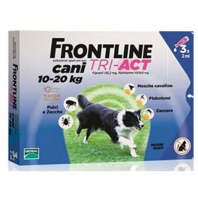 FRONTLINE PESTICIDE FLEAS TICKS TRI-ACT 10 - 20 KG.